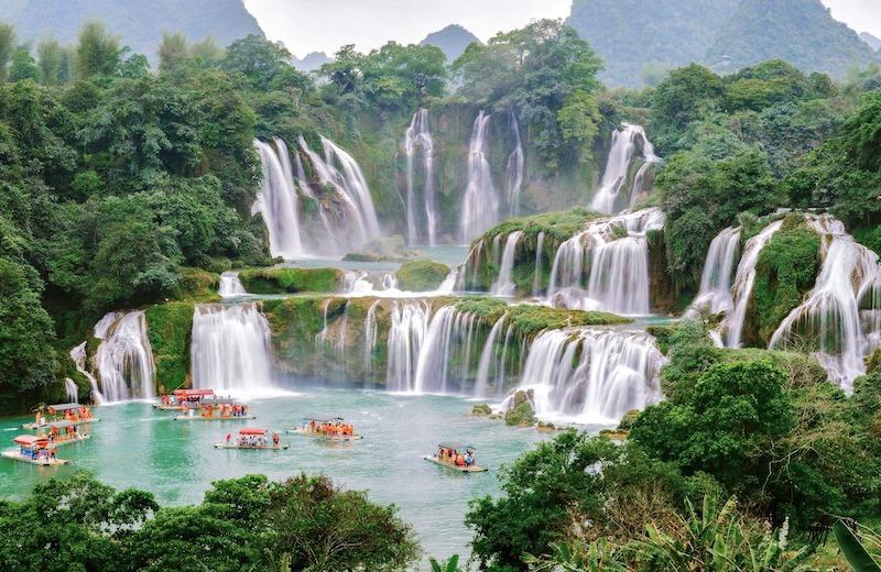 バンゾック 滝