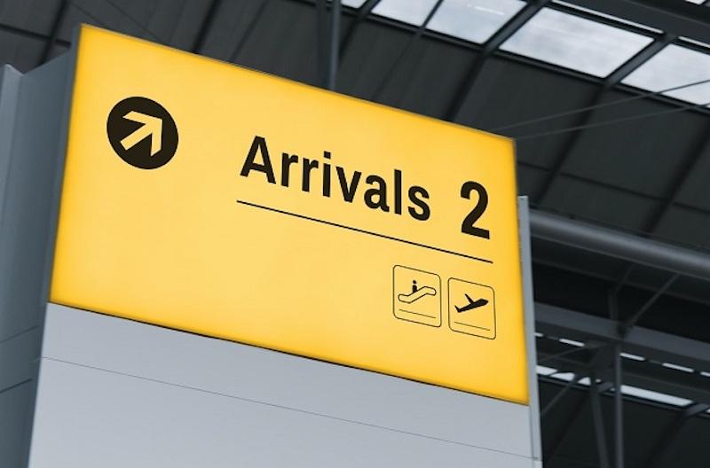 ダナン国際空港の出入国審査