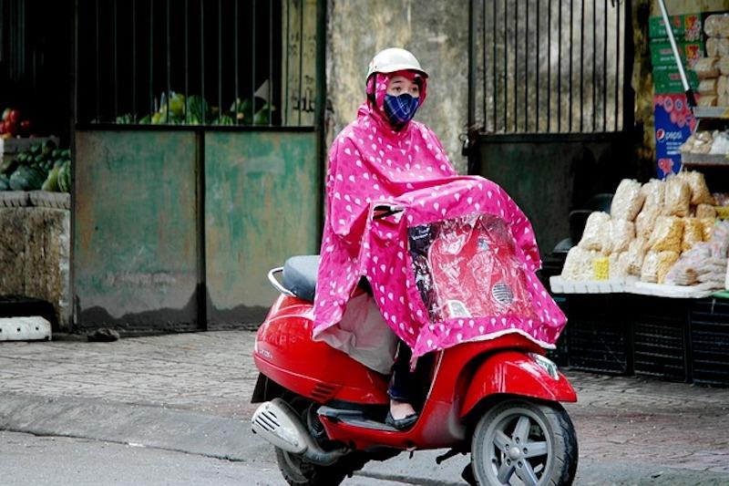 ベトナムの雨季、あると便利な持ち物