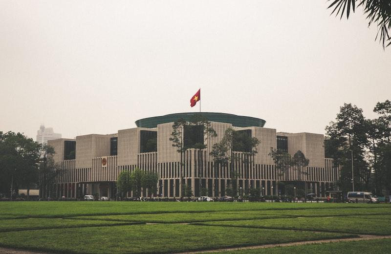 ベトナムの国会(ハノイ)