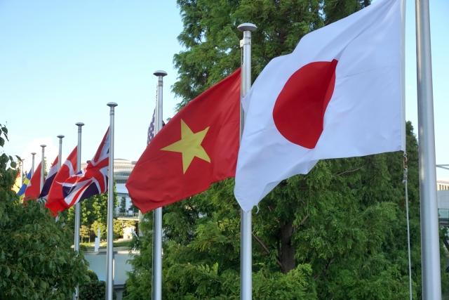 ベトナム各都市の大使館所在地