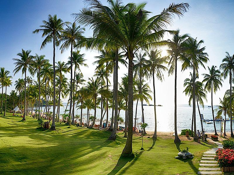 ベトナムのビーチリゾート