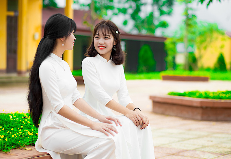 ベトナムの女子学生