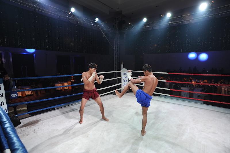 キックボクシングとタイの国技「ムエタイ」